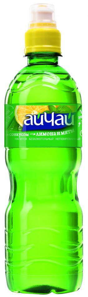 Зеленый чай со вкусом лимона и мяты