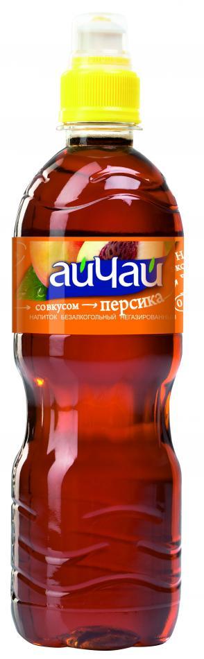Черный чай со вкусом персика