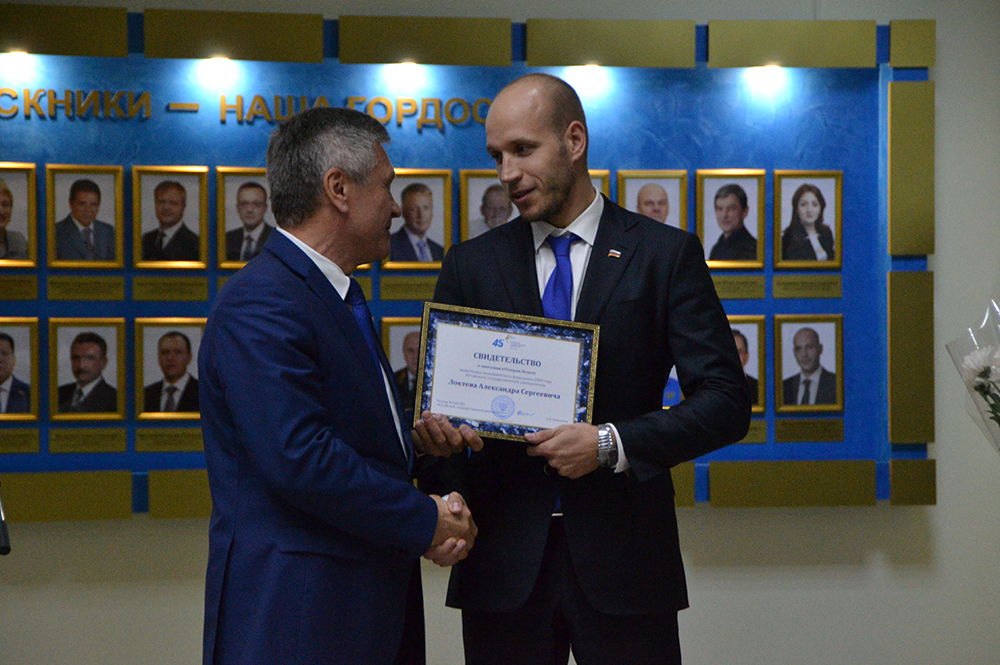 Открытие галереи лучших выпускников АГУ