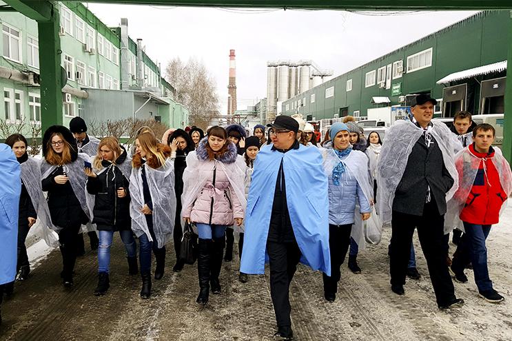 В гостях у БПЗ побывали студенты МИЭМИС АлтГУ