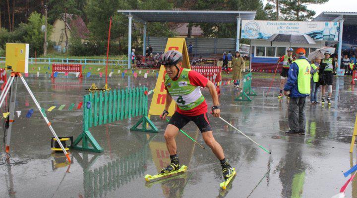 Алтайская команда победила в летнем чемпионате России по биатлону среди ветеранов