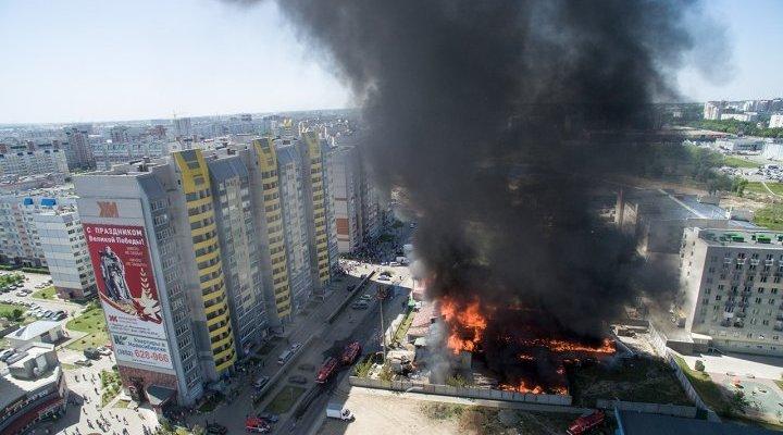 «Барнаульский пивзавод» окажет помощь пострадавшему от пожара «Коммунальщику»
