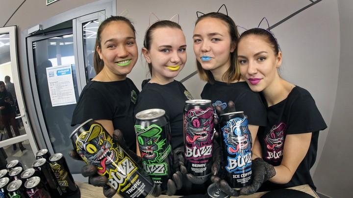 Барнаульские энергетические напитки стали пользоваться спросом уже в первые дни продаж