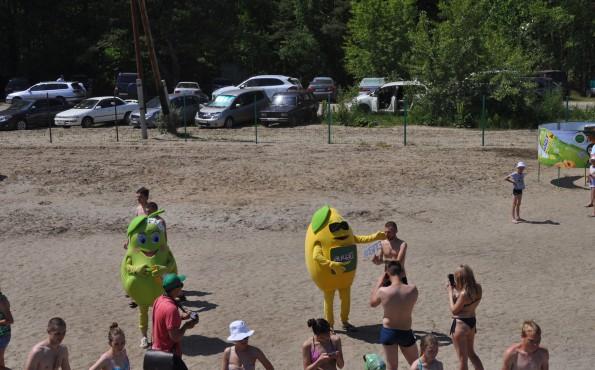 Открытие сезона на Павловском пляже. Лето - 2017