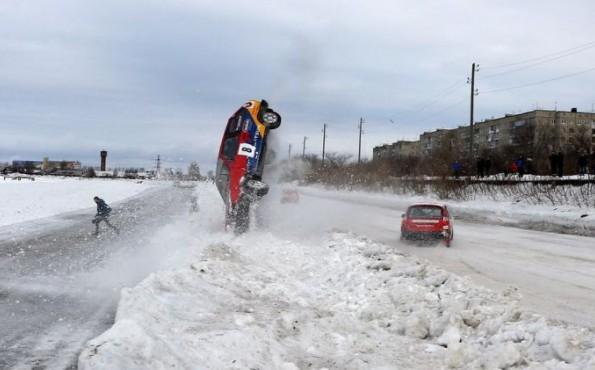 V этап кубка Сибири по зимним трековым гонкам.