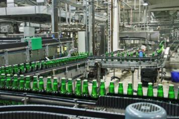 Барнаульский пивоваренный завод показал журналистам свое производство