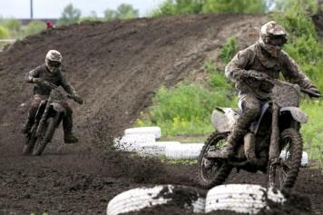 Мотокросс в Барнауле прошел в экстремальных условиях