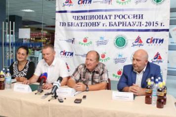 В Барнауле пройдет летний чемпионат России по биатлону среди ветеранов