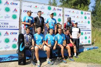 В Барнауле завершился чемпионат России по биатлону среди ветеранов. Фоторепортаж