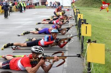 Пятый чемпионат России по летнему биатлону среди ветеранов прошел в Барнауле