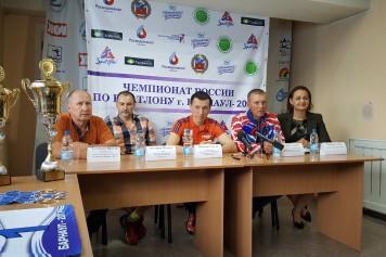 Состоялась пресс-конференция, посвященная летнему чемпионату России по биатлону среди ветеранов спорта