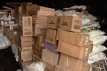 Алтайский край отправил в Хакасию гуманитарный груз