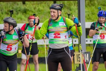 Летний чемпионат России по биатлону среди ветеранов завершился в Барнауле