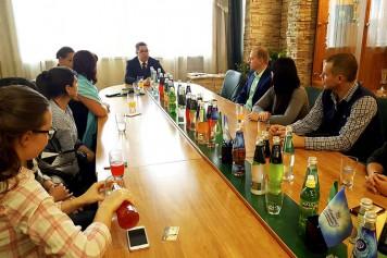 На площадке БПЗ состоялась встреча молодых предпринимателей с генеральным директором завода